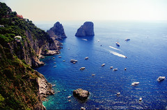 Italy Capri Faraglioni August 2012 (Smo_Q -listened to Heaven by E.Sande again and aga) Tags: italien italy capri italia italie   wochy