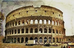 the colosseum (Rex Montalban) Tags: italy rome texture europe colosseum rexmontalbanphotography