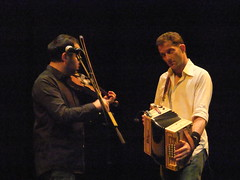 Faustus 19 (petereduk) Tags: cambridge england music concert folk gig livemusic band accordion junction violin fiddle trio faustus melodeon saulrose paulsartin faustusband faustusmusic