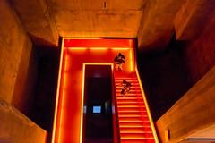 Treppe Orange (sigiha1953) Tags: nikon nikond600 d600 essen zechezollverein zeche zollverein colliery extraschicht treppe stairway treppenhaus stairwell orange ruhrgebiet nrw nordrheinwestfalen northrhinewestphalia deutschland germany sigmaart350mmf14 iso 3200 2013