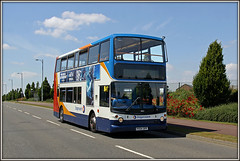 18152 Nectar Way (Jason 87030) Tags: dennis trident 50 pineham stageoach swanvalley northampton northants northamptonshire july canon late display 18152 px04dpf road lens scene camera greatbritain image portfolio shot picture ee 2016