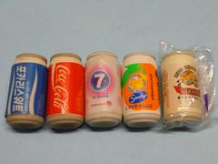 Beverage Cans 80s Erasers (My Sweet 80s) Tags: cocacola lattinacocacola coke lattine cans birra beer kingkirara 7up fakecans coreanabibita koreandrink erasers eraser vintageerasers gomme gommine gomminevintage gommedacollezione gommineanni80 80serasers beveragecans drinks bevande