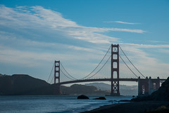 Golden Gate Bridge - Baker Beach - San Francisco - California - 10 June 2016 (goatlockerguns) Tags: golden gate bridge marin headlands sausalito california goldengatenationalrecreationarea baker beach sanfrancisco west coast coastal bayarea northbay