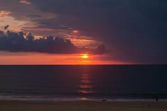 One More Sunrise (jason.betzner) Tags: sun sunrise summer beach virginia virginiabeach nature outdoors outside water reflection clouds sky ocean oceanfront seaside seascape orange canon rebelt3 eos