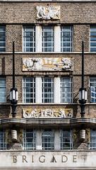 London Fire Brigade Headquarters (ghostwheel_in_shadow) Tags: albertembankment england englandandwales europe lambeth london londonfirebrigadeheadquarters unitedkingdom vauxhall architectureandstructures artcultureandcraft artdeco relief sculpture