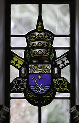Arms of Pope St Pius X (Lawrence OP) Tags: oakland california stalberts priory dominican heraldry papal stpiusx pope
