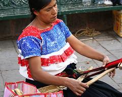 Nahua Woman Naupan Puebla Mexico (Teyacapan) Tags: nahua naupan puebla blouses blusa isabelmarant weaver textiles