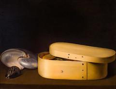 Still Life with a Nautilus, Panther Shell, and Chip-Wood Box (Thomas Hawk) Tags: manhattan met metropolitan metropolitanmuseum museum nyc newyork panthershell sebastianstoskopff stilllifewithanautilus themetropolitanmuseumofart usa unitedstates unitedstatesofamerica andchipwoodbox painting