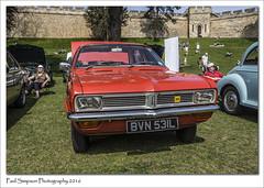 1972 Vauxhall Viva (Paul Simpson Photography) Tags: vauxhallviva 1970s british sonya77 lincoln lincolncastle lincolnclassiccarshow lincolnshire paulsimpsonphotography photoof photosof imageof imagesof red may2016 lesiure castlewalls