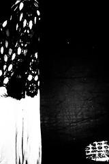 (willy vecchiato) Tags: abstract blackandwhite biancoenero monochrome monocramatico hole holes woman people candid street wear skirt contrast surreal surrealism surrealismo strada