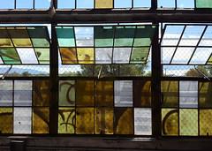 Rail Yards (Helen Orozco) Tags: windowwednesdays hww windows railyards albuquerque urban urbex panes open