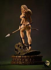 Jungle Girl 5 (Desert Dragon Visual Arts) Tags: frankcho junglegirl statue womenofdynamite