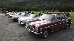 W111, W126, C123, R107, W116, C107, W113, W114 Mercedes Benz - IMG_9477-e (Per Sistens) Tags: cars thamslpet thamslpet13 orkladal veteranbil veteran w111 w126 c123 w123 r107 w116 c107 w107 w113 w114 mercedes benz blaabaron