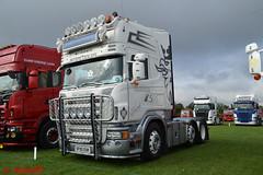 Scania R580 'Glen Howell Transport Services Ltd reg SF05 EUK (erfmike51) Tags: scaniar580 artic truck lorry glenhowelltransportserviesltd swedefest2016