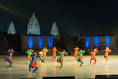 Ramayana Ballet (2) (Robert-Jan van der Vorm) Tags: indonesia yogjakarta prambanan temple candi rara jonggrang ramayana ballet music performance central java
