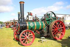 1933 Foster Steam Traction Engine VL 8371 (SR Photos Torksey) Tags: steam transport traction engine lincolnshire vintage vehicle rally showground 2016 foster
