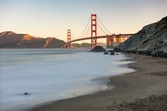 Golden Gate Sunrise (Matt McLean) Tags: bayarea beach bridge california coast coastal goldengate landscape longexposure sanfrancisco shore unitedstates us