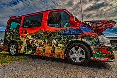 Mobile monument (Thunder1203) Tags: canonaustralia canoncollective canonef1740f4lusm cars carshow hdr photomatix thunder1203 monument memorial
