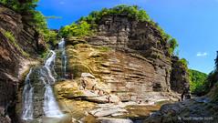 Lucifer Falls Pano 2 (sugarzebra) Tags: luciferfalls treman statepark ithica newyork pano panorama canon fingerlakes
