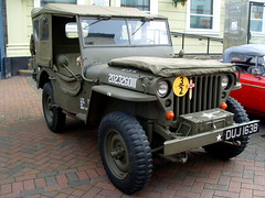 Willy's MB or 'Jeep' (Marty's White Suit) Tags: americanclassics green historic motors oldcars vehicles 4x4 jeep army military willys