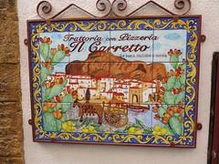 Tuesday Colours - Wagons and Carts (Pushapoze) Tags: italia italy sicilia cefalu carretto charrette cart ceramica tiles