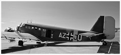 Love this aeroplane, Junkers Ju52 F-AZJU (Ciaranchef's photography.) Tags: junkers ju52 luftwaffe ww2 ww2aircraft ww2relics warbirds warplanes ukairshow ukaviation ukairshows warukairshowbritish nikon18300mmf3556gedvr nikonaviation nikond7000 bw