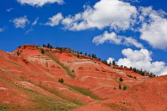 Red Hills - Wyoming (Jackpicks) Tags: forest bluesky national wyoming grandtetons bridgerteton redhills abigfave anawesomeshot mygearandme mygearandmepremium ringexcellence dbringexcellence gpsetest