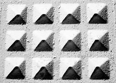 12 Triangoli 12 Piramidi. (Claudio61 una foto ferma un ricordo nel tempo) Tags: bw canon monocromo bn bianconero vigevano lomellina blackwhitephotos canon7d oltusfotos flickraward uniqueaward flickrunitedaward claudio61 virgiliocompany musictomyeyeslevel1