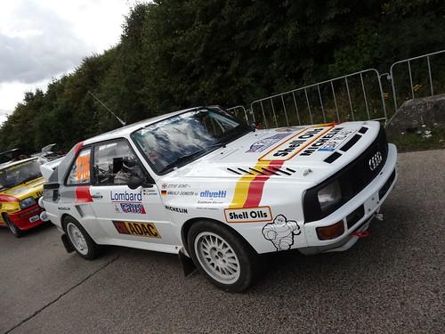 ADAC Rallye Deutschland 2012 377 Arena Panzerplatte - Historic Marathon