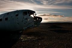 DC-3 (Kristinn R.) Tags: iceland dc3 d3x sólheimasandur