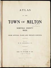 Atlas_Mass_Milton_1905_0003 (State Library of Massachusetts) Tags: massachusetts atlas milton