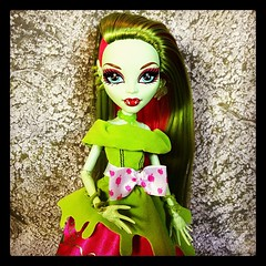 Venus (Laila X) Tags: monster square high doll dolls venus squareformat hefe iphoneography instagramapp uploaded:by=instagram mcflytrap lailadylemma