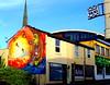 New mural in Preston (1) (Tony Worrall) Tags: street urban streetart building art wall corner graffiti big mural paint artist northwest painted tag large spray lancashire streetartist huge preston adelphi moot teaone prestonian reasm ©2012tonyworrall