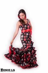 Veronica (Tonio LG) Tags: from españa de photo foto picture fotos traje melilla flamenca gitana pwmelilla feria2012