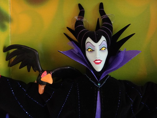 Limited Edition Maleficent 12'' Doll - Mattel Great Villains
