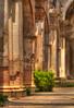 Flowers in the church – Main nave of the Saint Joseph Cathedral - Catedral de San José , Antigua Guatemala. (janusz l) Tags: old flowers texture church saint photoshop de joseph ruins cathedral folk guatemala computergenerated main paintings catedral antigua nave sanjosé hdr janusz cs6 leszczynski 153520 09092012 flowersinthechurch