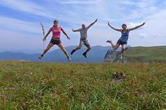 Roc de Toulau 2 - August, 2012 (RodaLarga) Tags: france lumix jump jumping lx5 ambel coldelabataille rocdetoulau