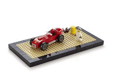 Ferrari F1 Oldtimer (-derjoe-) Tags: city car book big lego joe your stadt builders das build der bau dir own eine unofficial grosse derjoe lbuch