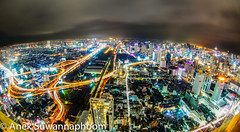 Bangkok night (anekphoto) Tags: apartment architecture asia bangkok bank blue blur building business city cityscape clouds condo condominium district downtown front grass high hotel landscape logistic modern night office park pool port reflection residence river road roof shadow sky skyline skyscraper street symmetric thailand tower town travel tropical urban vertical view waterfront way windows
