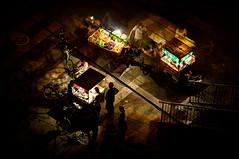 Street Food Ghosts (Amicus Telemarkorum) Tags: summer food fruit night evening market beijing august artificial ghosts hdr 2012 vendors foodcart zhonguancun jeffrueppel jeffrueppelphotography