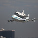 Space Shuttle Endeavour - LAX Flyover