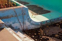 Dried Out (Joynt Inspirations) Tags: blue canada green texture abandoned canon gritty forgotten urbanexploration alberta waterpark urbex 50d skateboardvandals