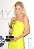 Julie Bowen 64th Annual Primetime Emmy Awards, held at Nokia Theatre L.A. Live - Press Room Los Angeles, California