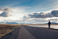 Road F910 (from lake Lgurinn to Krahnjkar Dam), Iceland (daitoZen) Tags: road travel summer mountain holiday plant nature landscape person iceland scenery 910 2012 hydropower snaefell krahnjkar karahnjukar flickrrm onsalegi k20dimgp3494