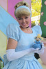 Cinderella with Mini-Cinderella (Amigurumi4u) Tags: doll princess handmade disneyland crochet disney cinderella amigurumi disneyprincess disneylandanaheim