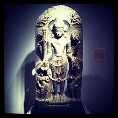 Vishnu stele - the Hindu god believed to maint...