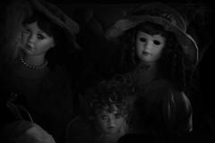 Abagail (DLbarron) Tags: girls blackandwhite stilllife color love beautiful dark death sadness still scary doll kill dolls emotion live deep creepy envy porcelain stills jealousy porcelaindoll porcelaindolls