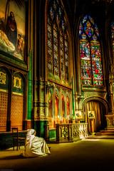 Ethereal (Lee Dolman) Tags: church wonder prayer religion stainedglass meditation