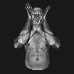 Double Exposure *Self Portrait (Juan Diego Rivas) Tags: portrait blackandwhite bw selfportrait blancoynegro colombia exposure pentax body doubleexposure retrato experiment double autorretrato k5 cuerpo experimentacion pentaxk5 juandiegorivas