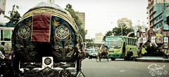 The Rickshaw (Sabik Akand) Tags: city transport culture dhaka easy tradition rickshaw jam cheap bangladesh motijheel